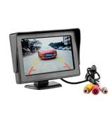 Night Vision Cam Cars Rear View Waterproof Full Hd 5 Inch Display Monito... - $29.65