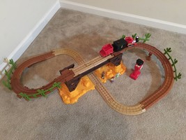GeoTrax Toy Story 3 Exploding Bridge RC Train Set! - $54.44