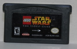 Lego Star Wars The Video Game Gameboy Advance GBA Eidos - $11.64