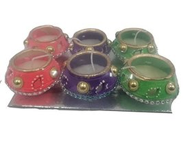 6 x DIY matki Diwali diya OIL LAMP Indian traditional festival occasion ... - $17.82
