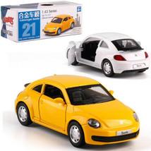 Volkswagen VW Beetle 1:43 Scale Diecast Alloy Metal Model Collection Car... - $14.99