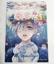 Black Butler Bonus Card Ciel Phantomhive Yana Toboso Illustration Anime ... - $35.63