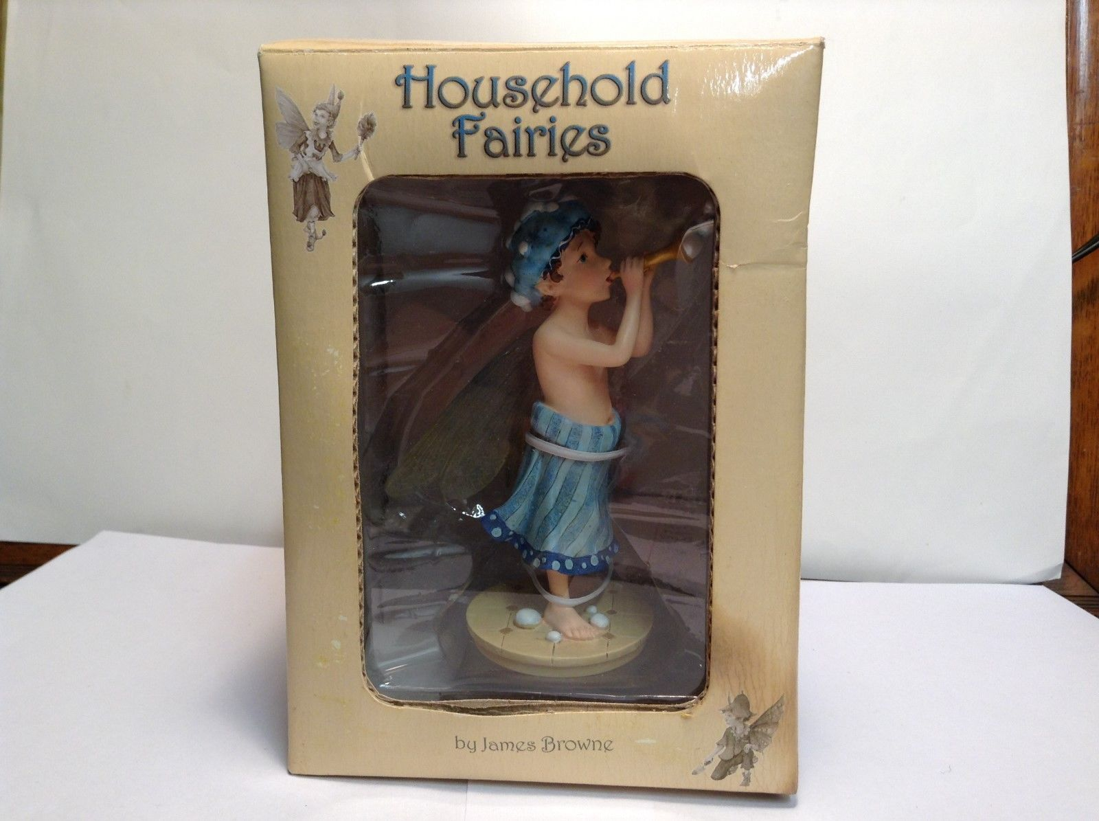 Household Fairies Bubble Bath Boy Figurine by James Browne