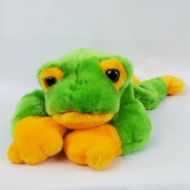 "Beanie Buddies Smoochy the Frog 13"" Plush Green Yellow Stuffed Animal Toad - $15.72"