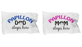 Papillons Mom and Dad Pillow Cases (Couple) - $19.55