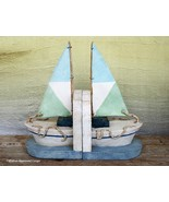 SAILBOAT BOOKENDS – STORE THOSE SPECIAL BOOKS IN A SAFE HARBOR! - $39.95