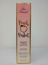 Too Faced Peach Perfect Comfort Matte Foundation Cocoa, #2787 - $24.26