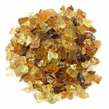 100 Ct 100% Natural Untreated Yellow Citrine Loose Gemstone Rough Lot - $8.99