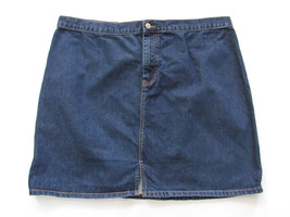 Gap Womens Skirt Size 18 Straight Blue Denim - $23.38