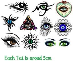 Eye Eyes  Temporary Tattoos  - $11.00