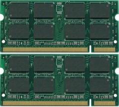 2GB 2X1GB DDR2 PC2-5300 667MHz Portable Mémoire Sodimm RAM 200pin pc5300S