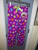 Komar Kids Purple Puppy I Love My BFF  Pajama Bottoms Size 10/12 Girl's NEW - $16.02