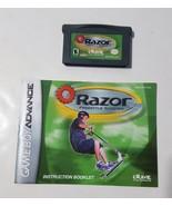 Razor Freestyle Scooter - Nintendo Game Boy Advance GBA 2001 Video Game ... - $5.45