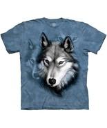 The Mountain Men's / Women's Three Wolf Portrait T-Shirt Tee 100% Cotton... - $13.88