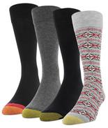 Gold Toe Mens 4 Pack Christmas Fairisle Socks $26 - NWT - $11.87