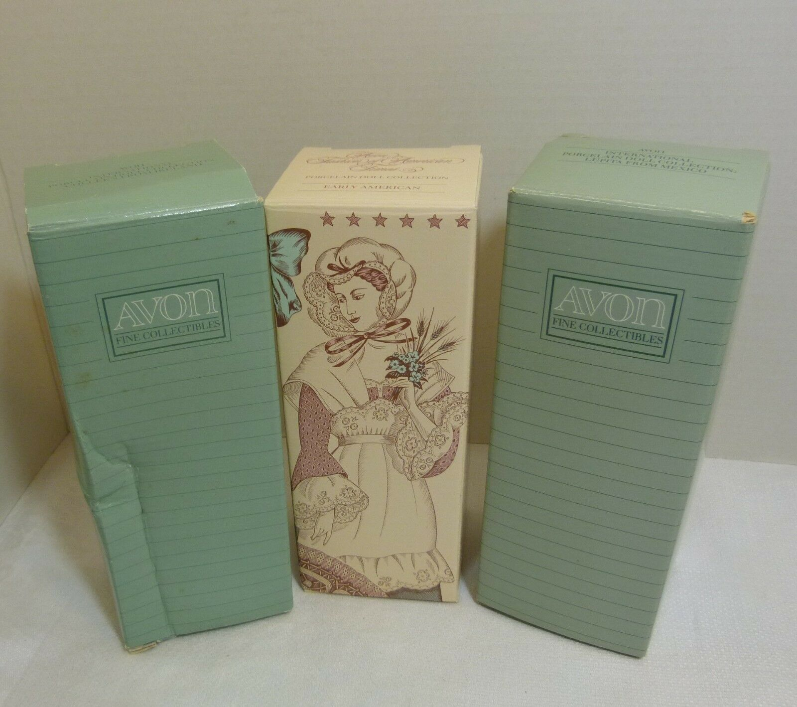Avon Porcelain Doll Collection Lot of 3: and 50 similar items