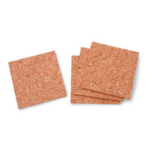Cork Tile Square 5Mm Thick 4 X 4 Inches - $6.00