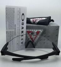 New OAKLEY Sunglasses BATWOLF OO9101-07 Polished Clear Frame w/ Ice Iridium Lens