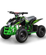 Four Wheeler Kids Boys Girls Green Mini ATV Dirt Bike Electric Battery 2... - $574.19