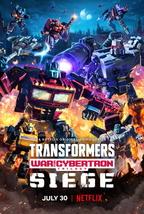 Transformers War for Cybertron Trilogy Poster Netflix TV Series Art Prin... - $9.90+