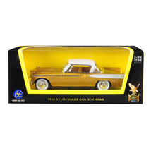 1958 Studebaker Golden Hawk Gold and White Top 1/43 Diecast Model Car by... - $23.80