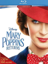 Disney Mary Poppins Returns  (Blu-ray + DVD, 2019)
