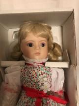 "1989 Gorham Musical Dolls Of The Seasons ""Dana"" In Original Box - $28.04"