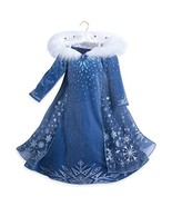 Disney Queen Elsa Deluxe Costume - Olaf's Frozen Adventure - Kids (5/6) - $128.69