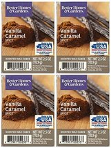 Better Homes and Gardens Vanilla Caramel Spice Wax Cubes - 4-Pack - $18.13