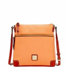Dooney & Bourke Pebble Leather Crossbody Apricot Purse Handbag