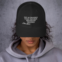 Good Trouble John Lewis Hat / Good Trouble Hat / John Lewis Trucker Cap image 3