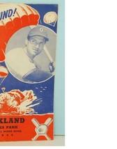 1945 Oakland Oaks Victory Bound Scorebook vs San Francisco Seals - $57.27
