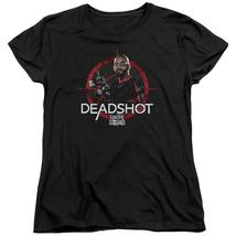 034da690 Suicide Squad - Deadshot Target Short Sleeve Women's Tee Shirt  Officially Licens