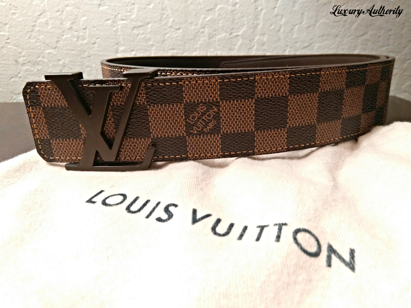 33bb7e8a90fc Louis Vuitton Damier Ebene Belt M9807 Men s and 50 similar items