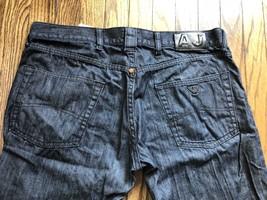 Giorgio Armani Jeans Mens 100% Cotton Straight Jeans Size 36 x 32 - $67.65