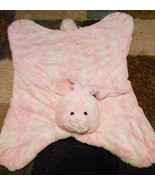 Gund Heads and Tales Pink Bunny Baby Play Mat Security Blanket - $23.08