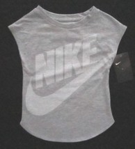 Nike Graphic-Print T-Shirt, Little Silver Size 6X 3MB961G - $14.90