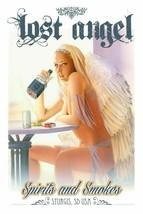 LOST ANGEL Pin Up Metal Sign Lorenzo Sperlonga - $30.00