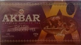 Akbar English Breakfast Pure Ceylon Tea 100 x 2g tea bags - $18.99