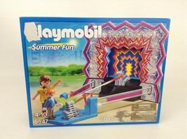 Playmobil Summer Fun Amusement Park Carnival Can Shooting Game Set 5547 ... - $18.66