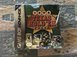 Nintendo game boy advanced texas hold'em poker (new/sealed) - $19.72