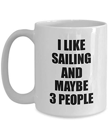 Primary image for Sailing Mug Lover I Like Funny Gift Idea for Hobby Addict Novelty Pun Coffee Tea