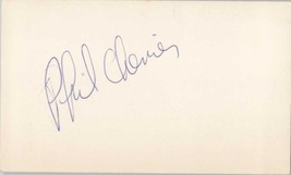 Phil Chenier Signed Autographed 3x5 Index Card - NBA Great - $4.95
