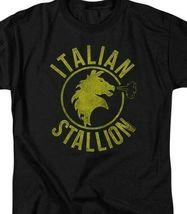 The Italian Stallion Rocky Balboa Retro 70's 80's movie graphic T-shirt MGM209B image 3