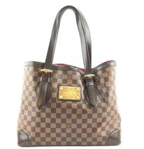 #33316 Louis Vuitton Hampstead Tote Mm Open Top Large Brown Shoulder Bag - $750.00