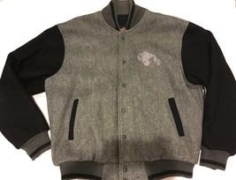 Vintage M&M Candy Varsity Wool Jacket Lined Coat Auburn Sportswear Gray ... - $64.30
