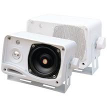 Pyle PLMR24 Hydra Series 3.5 200-Watt 3-Way Weatherproof Mini-Box Speake... - $55.65 CAD