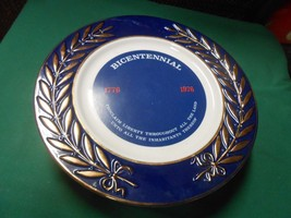 Collector Plate-BICENTENNIAL 1776-1976 by Taylor, Smith & Taylor - $7.51