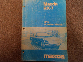 1985 Mazda RX-7 RX 7 Service Repair Shop Manual FACTORY OEM BOOK RARE 85 x - $198.09