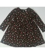 Gymboree Girl's Winter Snowflake Dress Size 6 Brown Long Sleeve Mittens ... - $14.54